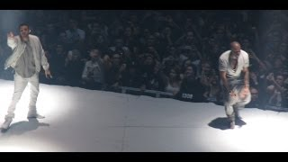 Repeat youtube video KANYE WEST BRINGS OUT DRAKE IN TORONTO - YEEZUS TOUR (FOREVER & ALL ME)