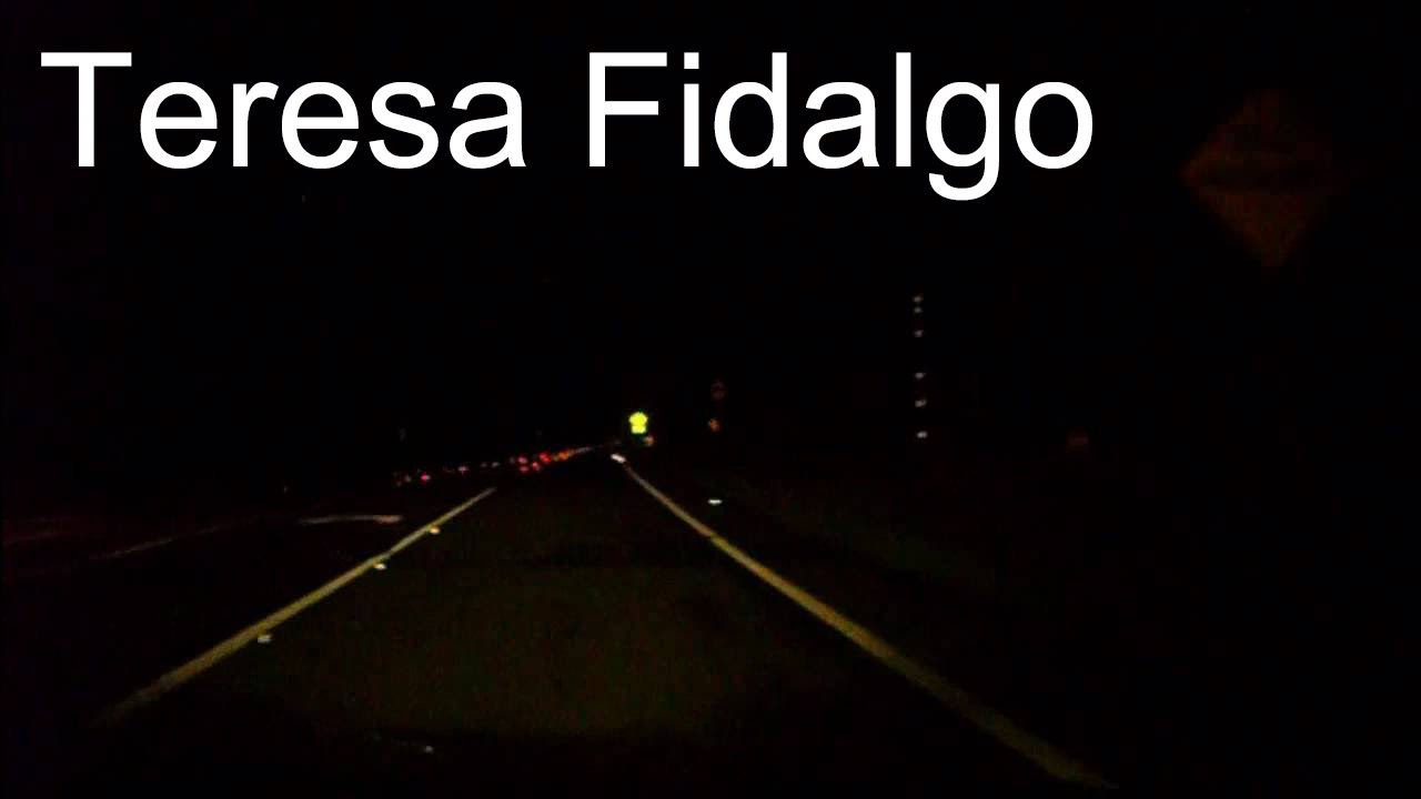Teresa Fidalgo  Car Accident Video