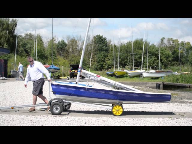 HOW TO GUIDES - Loading and Unloading A Dinghy Trailer