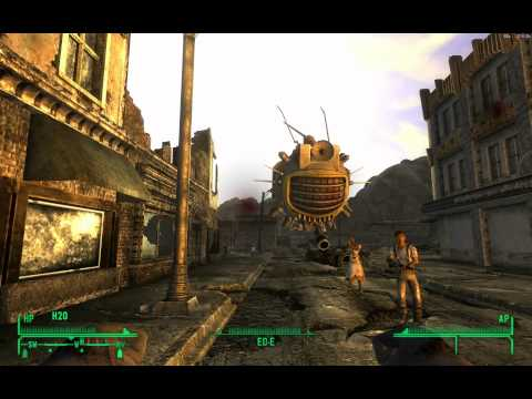 Fallout New Vegas: Ed-E Upgrade Bug, from the quest Ed-E My Love (in 1080p HD)