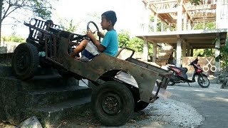MINI JEEP WILLYS 4X4 HOMEMADE PART 1