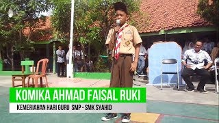 Video Stand Up Comedy Hari Guru SMP - SMK SYAHID download MP3, 3GP, MP4, WEBM, AVI, FLV Juni 2018