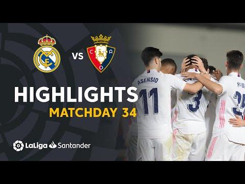 Real Madrid Osasuna Goals And Highlights