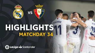 Highlights Real Madrid vs CA Osasuna (2-0)