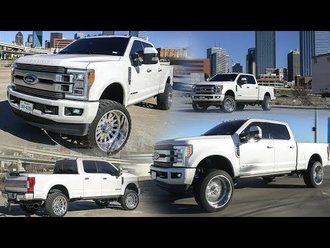 F Power Stroke Limited Edition on a  inch  lift with x American Force Wheels!