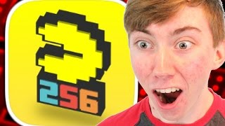 PAC-MAN 256 - ENDLESS ARCADE MAZE (iPhone Gameplay Video)