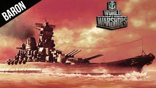 World Of Warships YAMATO Hitting Citadels