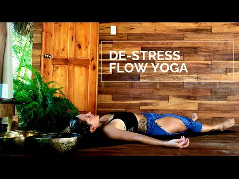 De-stress Yoga Flow video with Matea