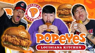 Popeyes Chicken Sandwich (Worth the Hype) ?