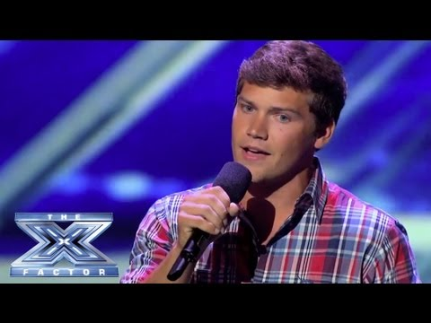 Andrew Scholz - Prize Beefcake Goes Country - THE X FACTOR USA 2013