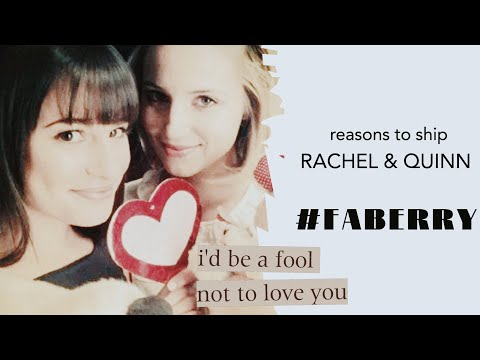 49 Reasons to ship Faberry | #GLEE