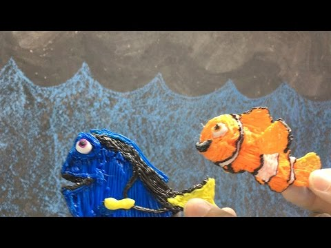 Finding Dory & Nemo! 3D Pen Art!