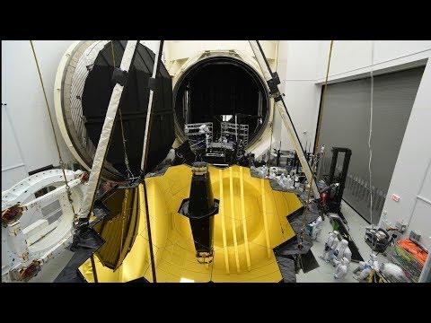 Webb Telescope's Houston Highlights Time Lapse