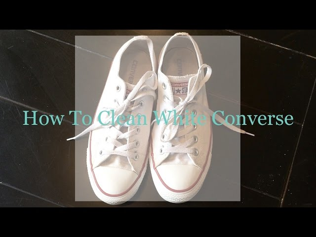f4553cdf5ceb 4 Easy Ways to Clean White Converse - wikiHow