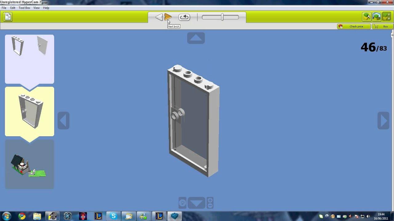 hoe bouw je een huis in lego - YouTube