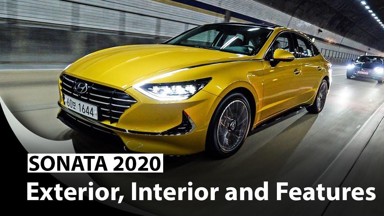 2020 Hyundai Sonata Revealed With Fresh Design Larger Size Youtube
