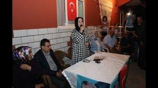 Çalık, Seçim çalışmaları Kapsamında Malatya'da Dilek Mahallesini Ziyaret Ett