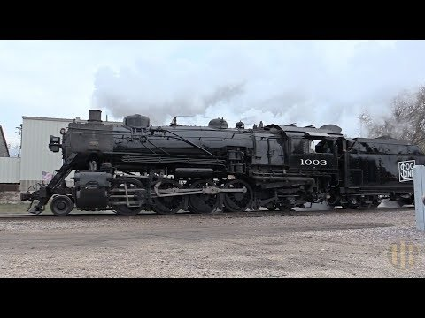 Soo Line 1003 Steaming into Horicon