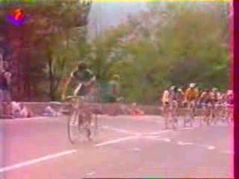 Tour de France 1991 : Gianni Bugno à l'Alpe d'Huez
