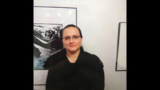 Diana Nenning in Fenster Nr. 14 am Lienzer Kunstadventkalender