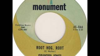Grandpa Jones   Root Hog or Die