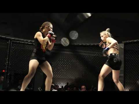 Cage Combat 26 Whitney Rice vs Amber Schoech