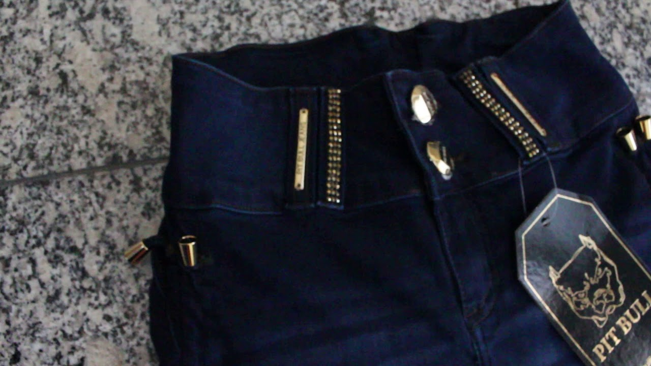 ffcd07e75e Calça Pit Bull Jeans com bojo levanta bumbum 23681 - YouTube