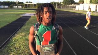 Land Rover Palm Beach Player of The Week 10/16 Oyeh Lurry Davis