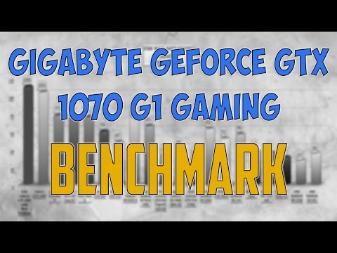 Gigabyte GeForce GTX 1070 G1 Gaming BENCHMARK / GAME TESTS REVIEW / 1080p, 1440p, 4K