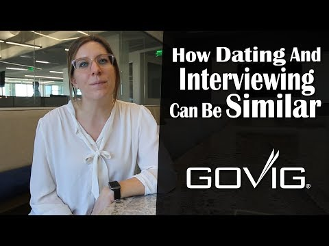 Dating and Interviewing Can Be Similar