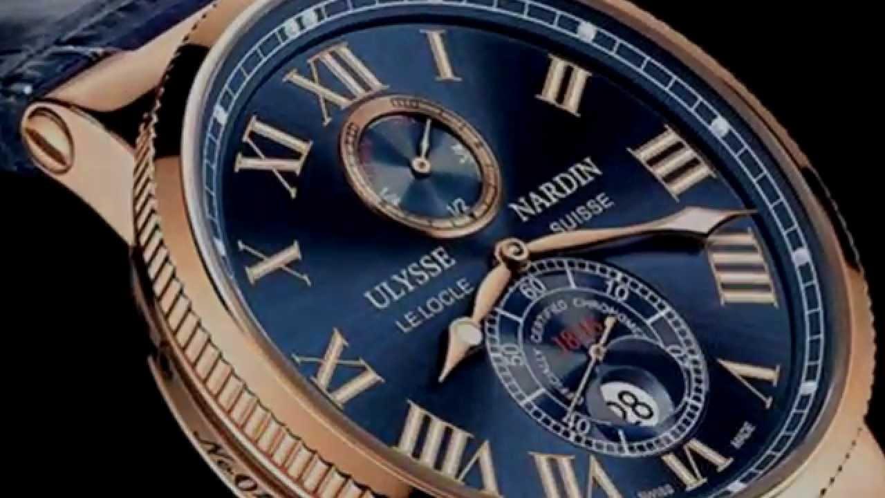 Часы от ведущего производителя ulysse nardin (улисс нордин). Купить их можно по лучшей цене в интернет магазине golden time. Отличные коллекционные реплики юлис нардин, которые не найти даже на официальном сайте. Цена на часы улисс нордин вас приятно уд.