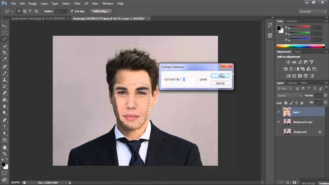 Face Swap Tutorial - Adobe Photoshop | RealFlame - YouTube