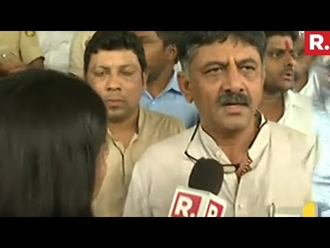 DK Shivakumar Speaks To Republic TV After Karnataka Floor Test  | Republic TV EXCLUSIVE