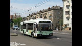 Троллейбус Минска БКМ-32102,борт. 2155,марш.51, в парк 20.06.2019