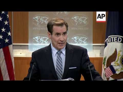 State Department Condemns Attack in Ankara
