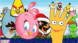 Angry Birds Finger Family | Figer Family Angry Birds|Finger Family Nursery Rhym