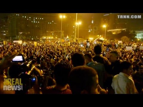 Egyptians Denounce Election Results in Cairo and Alexandria