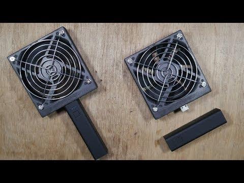 PC 팬으로 초강력 휴대용 선풍기 만들기_EVERY DIY