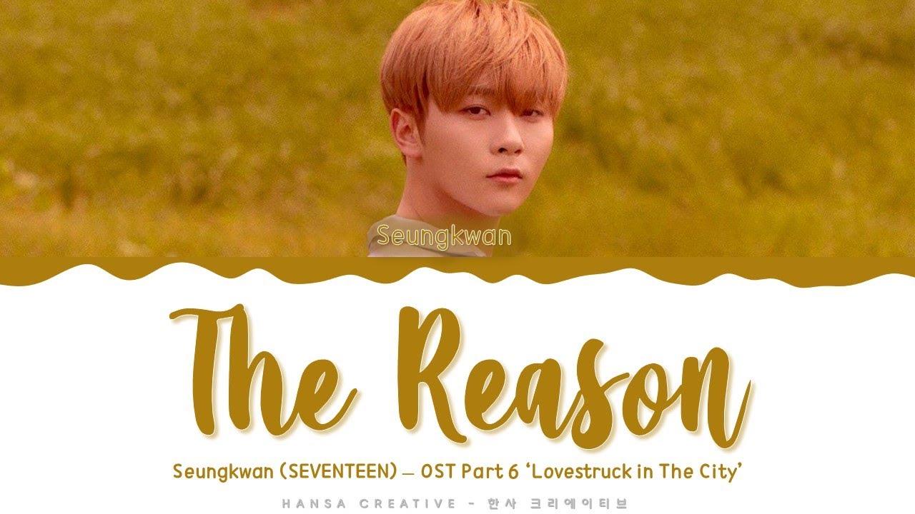 "SEVENTEEN Seungkwans ""이유 (The Reason)"" translates + Korean texts"