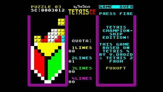 Tetris Championship Edition (2020) ZX Spectrum
