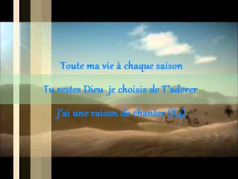 Chant du désert - Desert song Hillsong in French