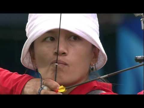 Zhang Juan Juan -- Tir à l'arc -- Pékin 2008