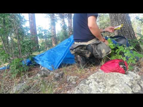 Challenge Invasion- Bugging Out Into The Woods I Go-