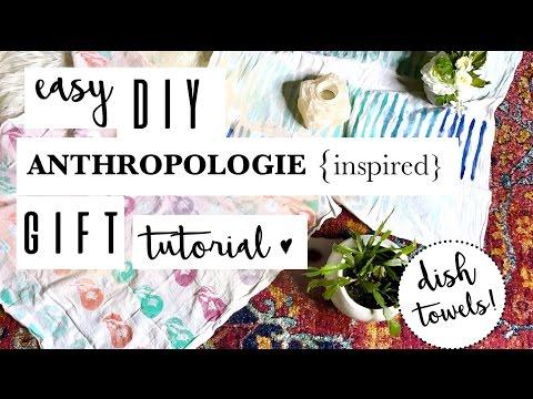 easy-anthropologie-diy-gift-idea---kitchen-tea-towels!