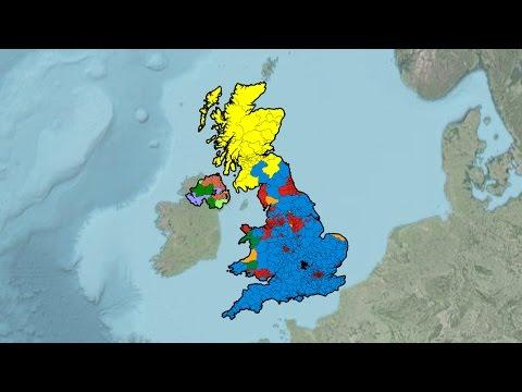 United Kingdom General Election Results (1945-2015)