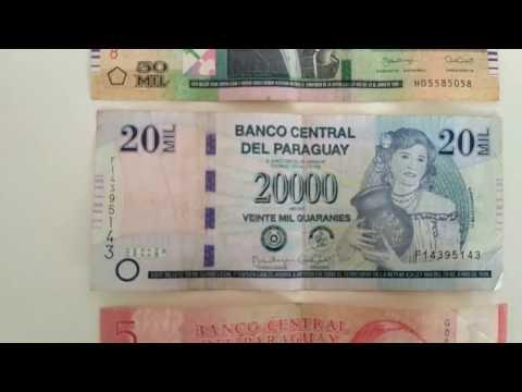 Экзотическая Южная Америка. Командировка в Парагвай. Money of Paraguay