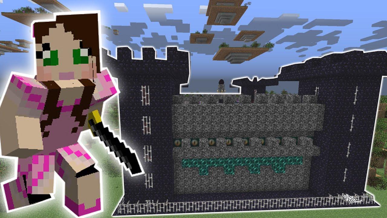 Minecraft  The Ender Castle Misson