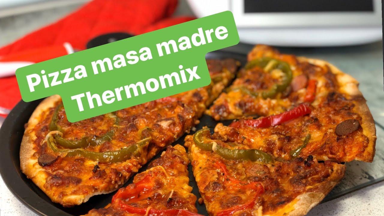 receta pan masa madre thermomix sin levadura