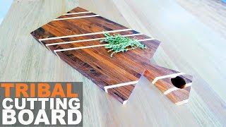 How to make a Cutting Board | Recycled Hardwood Flooring