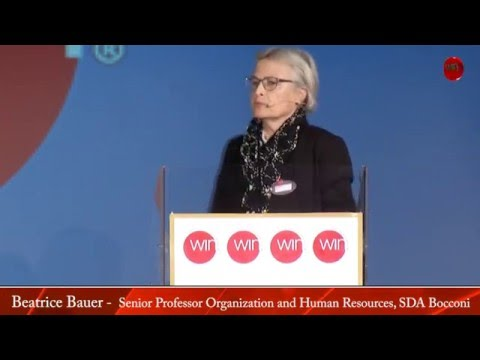 Bocconi Business School Prof (Milan, Italy) Beatrice Bauer on Career Strategies
